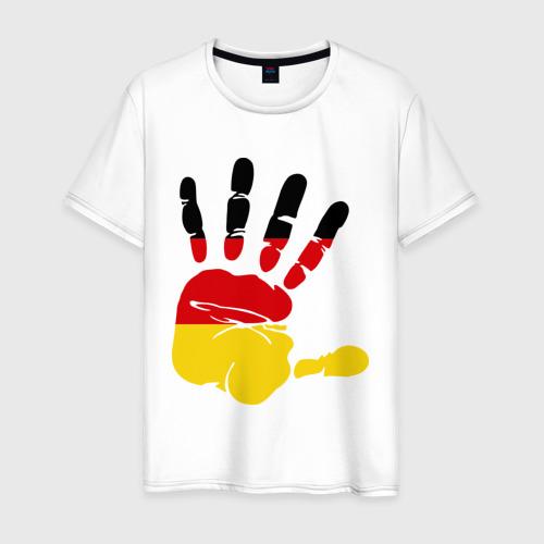 Мужская футболка хлопок Рука Германии