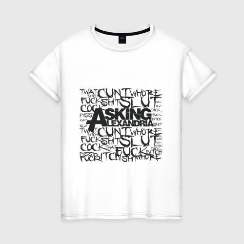 Женская футболка хлопок Asking Alexandria
