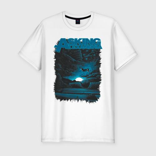 Мужская футболка хлопок Slim Asking Alexandria
