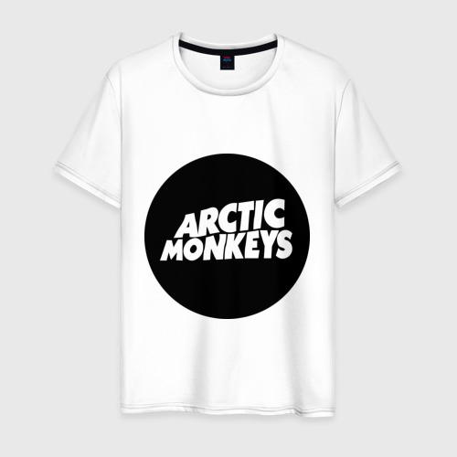 Мужская футболка хлопок Arctic Monkeys Round