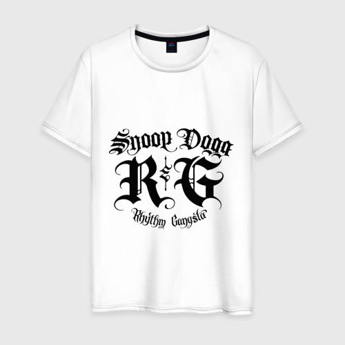 Мужская футболка хлопок Snoop Dogg
