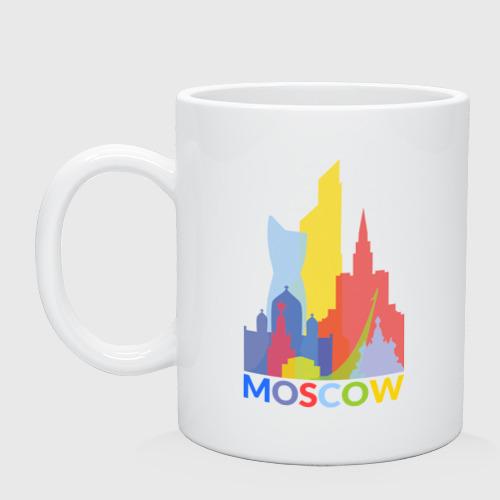 Кружка керамическая Moscow (Москва)