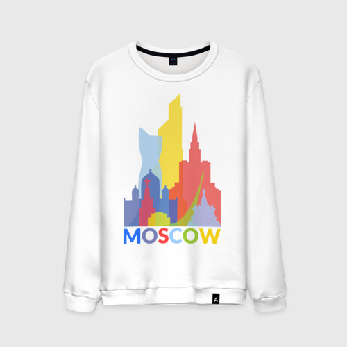 Мужской свитшот хлопок Moscow (Москва)