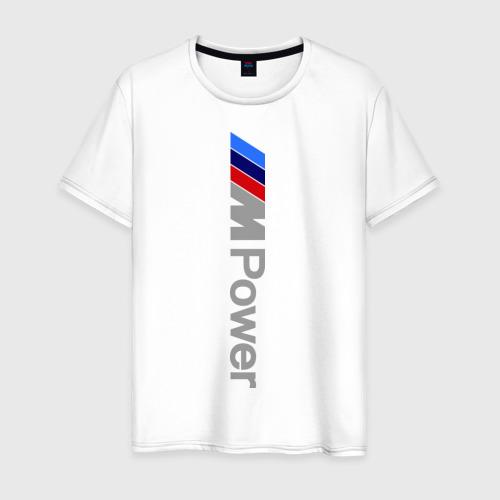 Мужская футболка хлопок BMW power