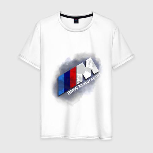 Мужская футболка хлопок BMW