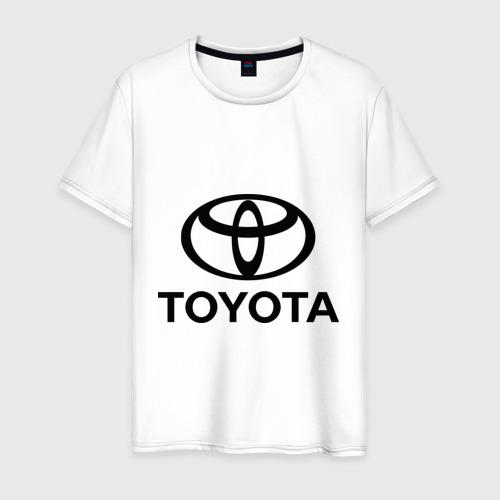 Мужская футболка хлопок Toyota Logo