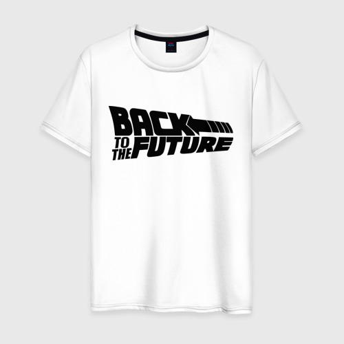 Мужская футболка хлопок Назад в будущее