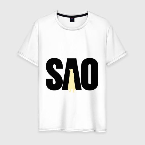 Мужская футболка хлопок SAO