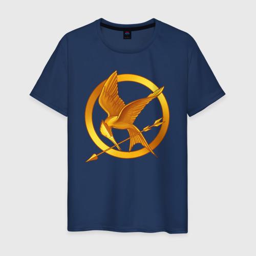 Мужская футболка хлопок Голодные игры