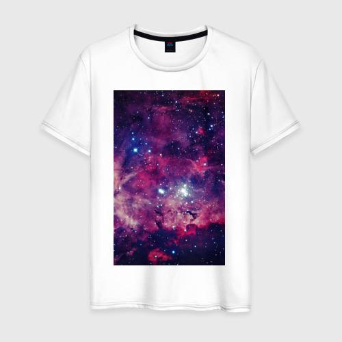 Мужская футболка хлопок Space