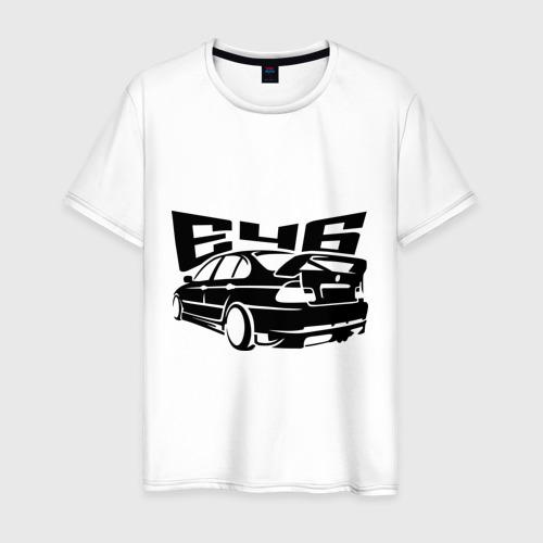 Мужская футболка хлопок BMW e46