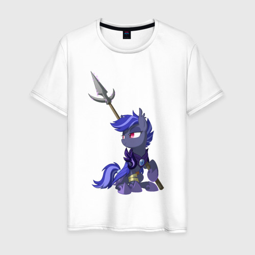 Мужская футболка хлопок BatPony - (ОС)