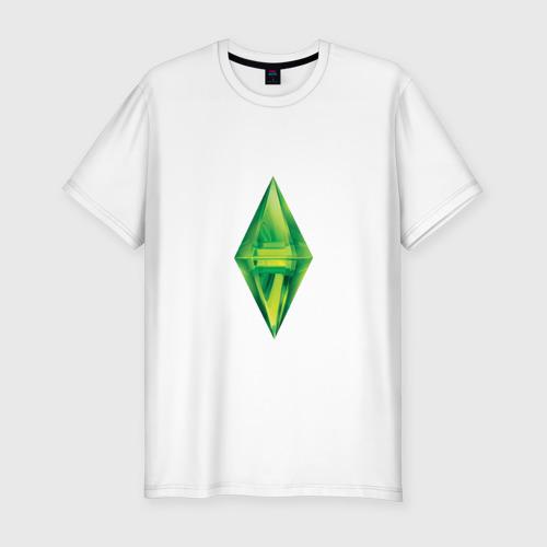 """Мужская футболка хлопок Slim Коллекция """"sims"""""""