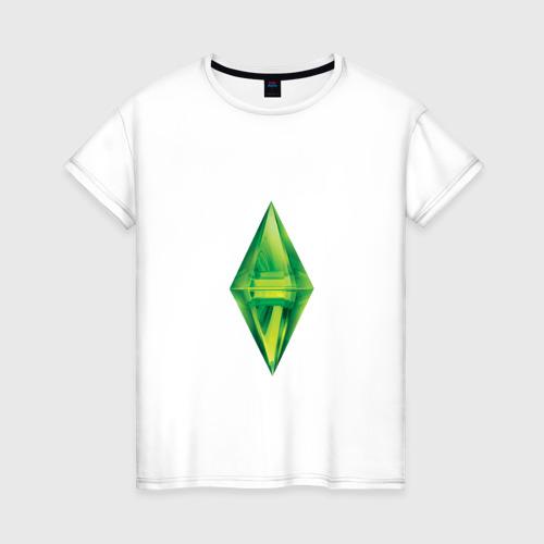 """Женская футболка хлопок Коллекция """"sims"""""""