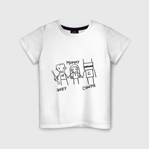 Детская футболка хлопок Семья
