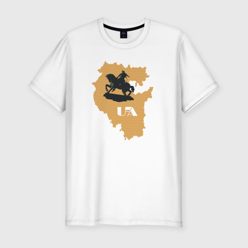 Мужская футболка хлопок Slim Салават Юлаев. Уфа
