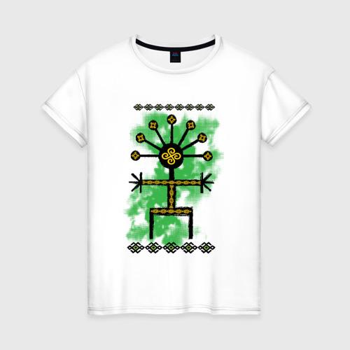 Женская футболка хлопок Кураймен