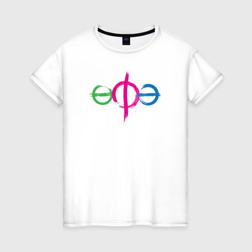 Женская футболка хлопок Уфа лого