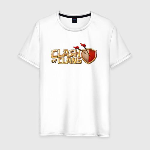 Мужская футболка хлопок кланс