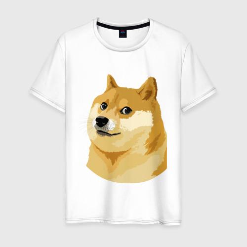 Мужская футболка хлопок Doge