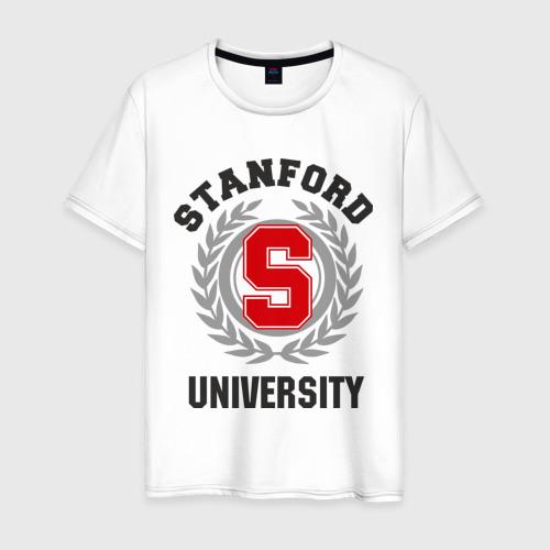 Мужская футболка хлопок Стэнфорд