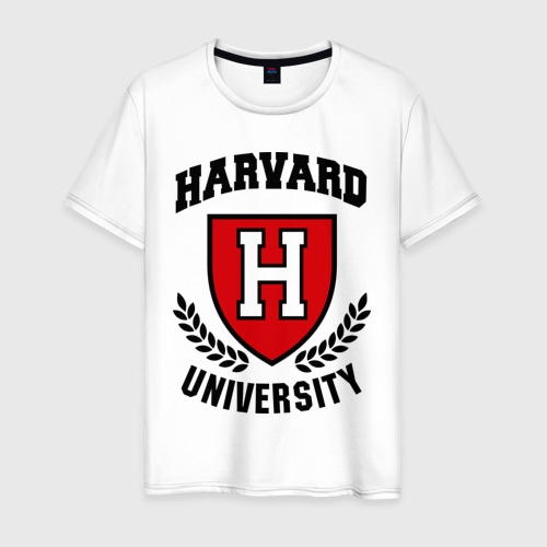 Мужская футболка хлопок Гарвард