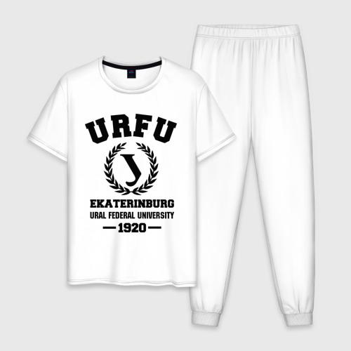 Мужская пижама хлопок Уральский федеральный университет