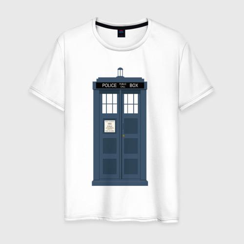 Мужская футболка хлопок TARDIS