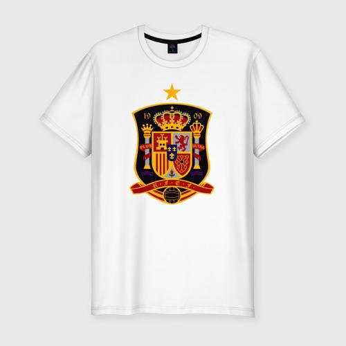 Мужская футболка хлопок Slim Spain National Football