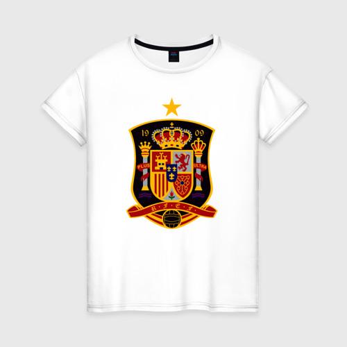 Женская футболка хлопок Spain National Football