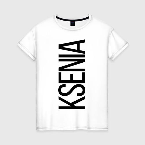Женская футболка хлопок Ксения