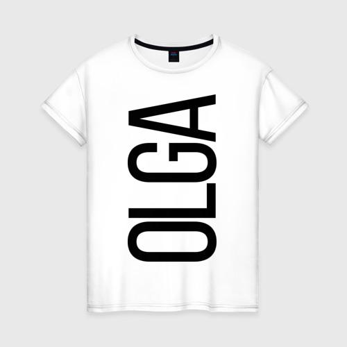 Женская футболка хлопок Ольга