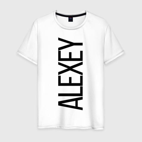 Мужская футболка хлопок Алексей