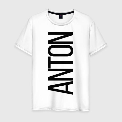 Мужская футболка хлопок Антон