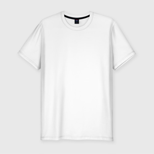 Мужская футболка хлопок Slim Установка мускулатуры