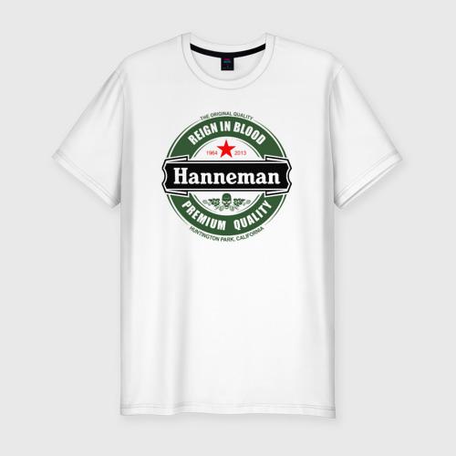 Мужская футболка хлопок Slim Hanneman