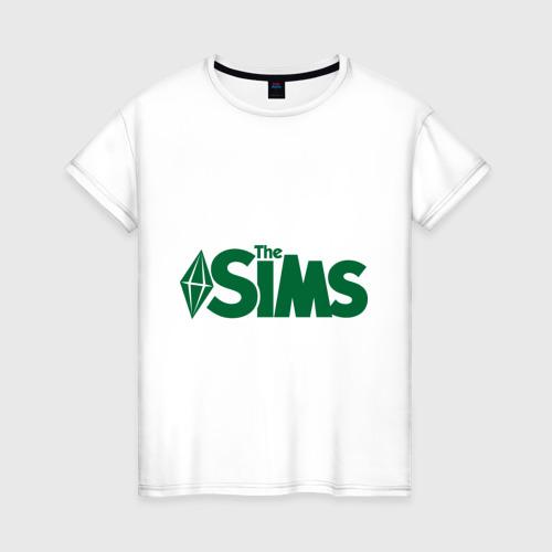 Женская футболка хлопок Sims