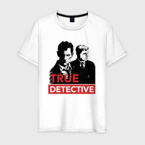 Мужская футболка хлопок Настоящий детектив