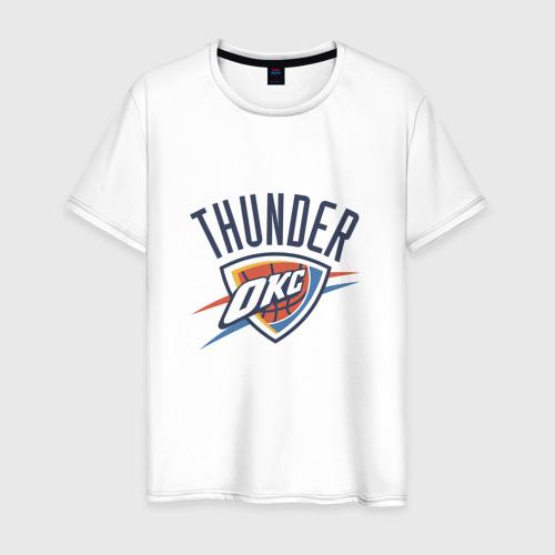 Мужская футболка хлопок NBA OKLAHOMA THUNDER OKC