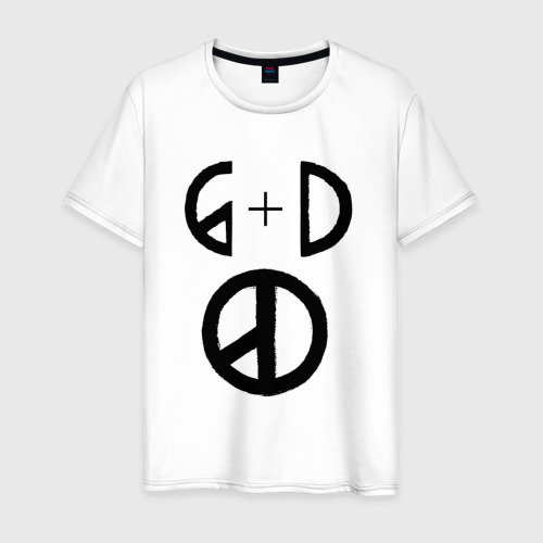 Мужская футболка хлопок G Dragon