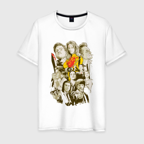 Мужская футболка хлопок Тарантино