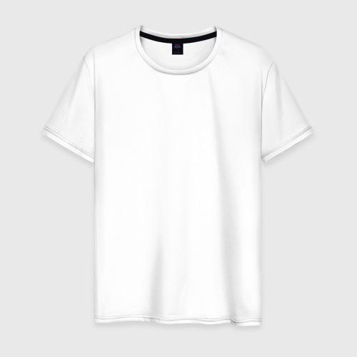Мужская футболка хлопок Знак клана Учиха на спине