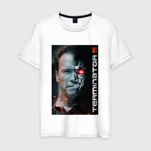 Мужская футболка хлопок Терминатор