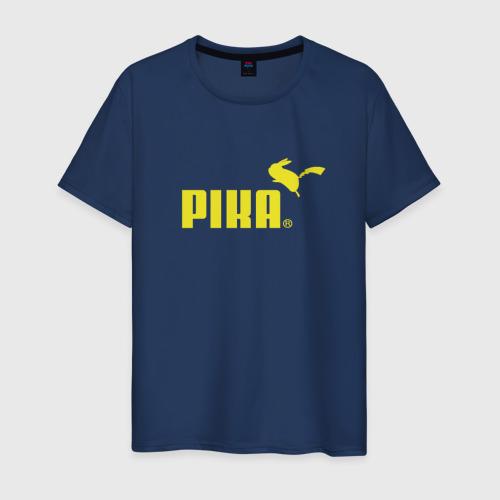 Мужская футболка хлопок Пика