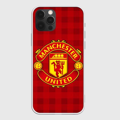 Чехол для iPhone 12 Pro Max Manchester united