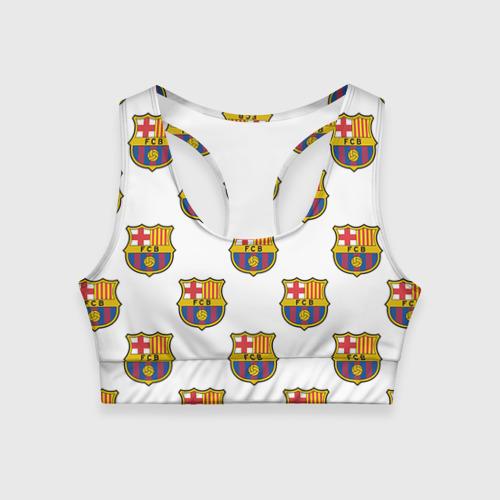 Женский спортивный топ 3D Барселона