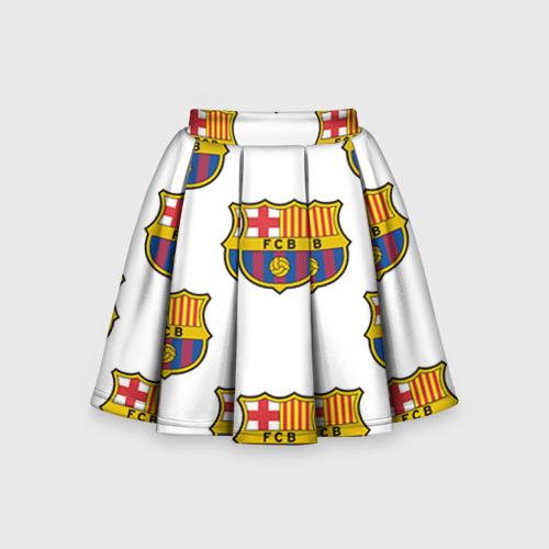 Детская юбка-солнце 3D Барселона