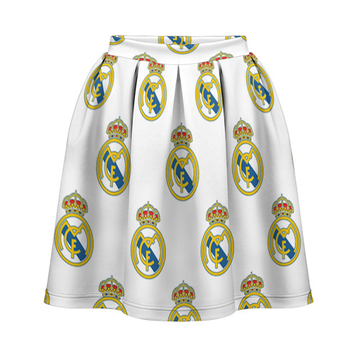 Юбка-солнце 3D Real Madrid
