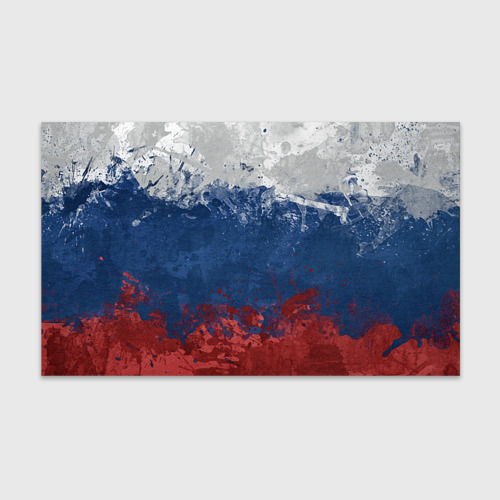 Бумага для упаковки 3D Флаг России
