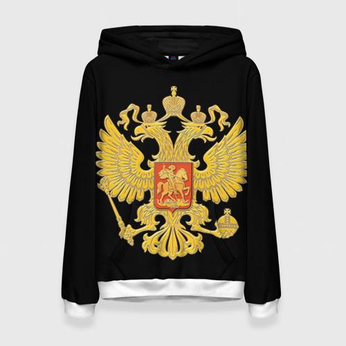 Женская толстовка 3D Герб России
